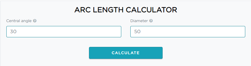 how to use are length calculator