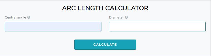 introduction to arc length calculator