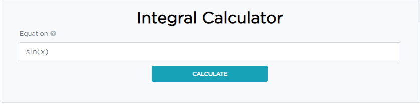 what is integral calculator