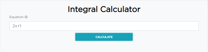 how to calculate integral